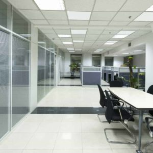 Infrared Ceiling heaters for offices