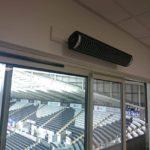Herschel Aspect XL sports hall heating at Liberty Stadium