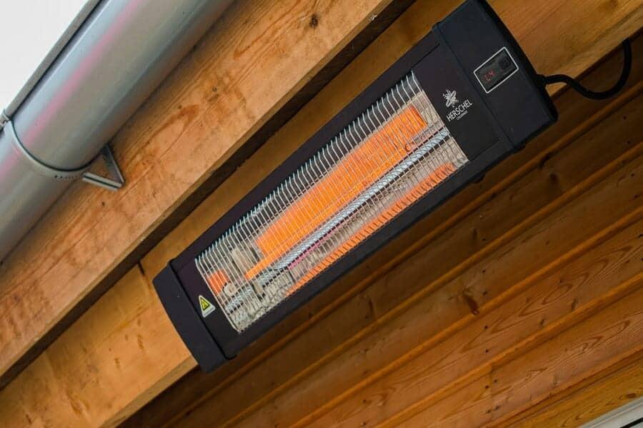 Herschel Colorado 2500 Ir B Infrared Terrace Heater With