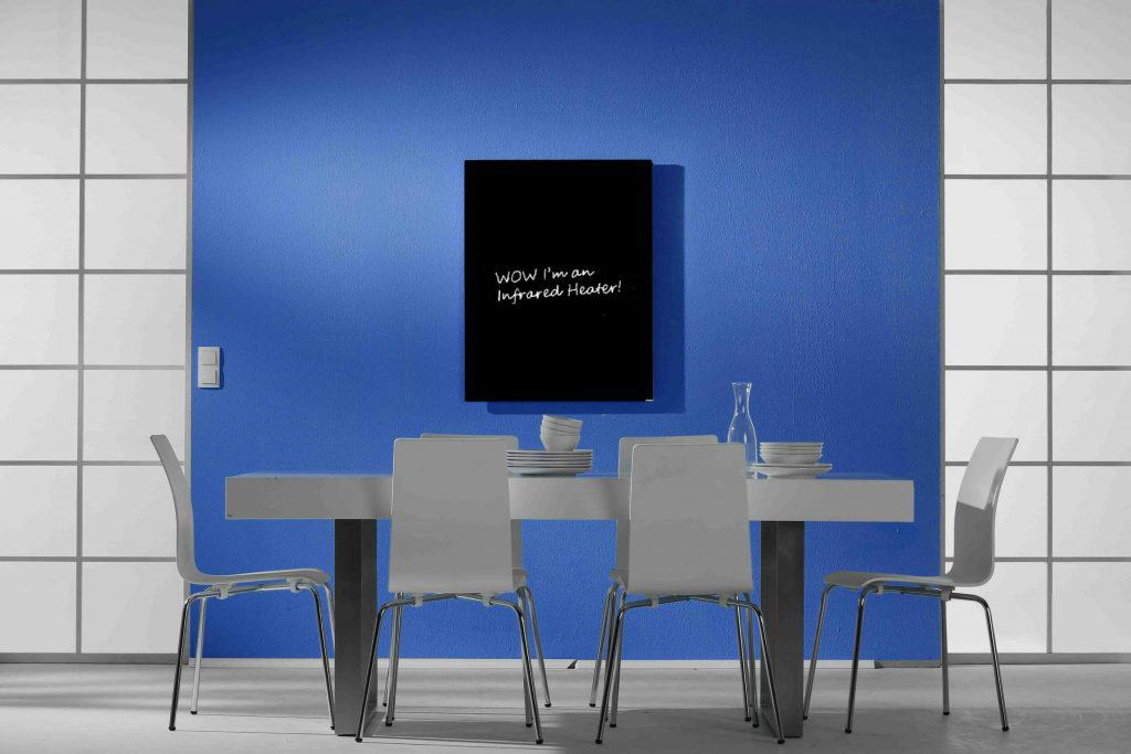 Inspire blackboard in living area