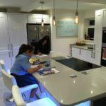 Witte infrarood glazen paneelverwarmers