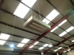 Herschel Infrared for zero maintenance industrial heating