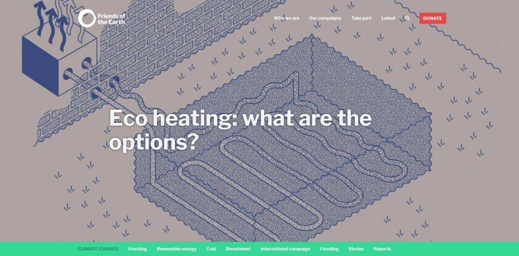 Eco heating options