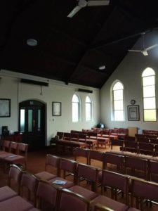 Church refectory heating