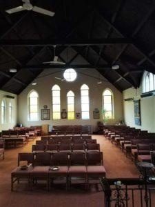 Herschel Summit heating church refectory