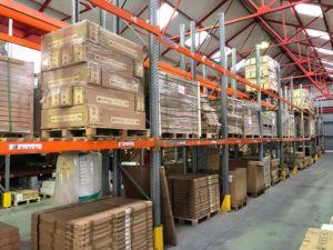 Herschel's market leading products in our UK warehouse