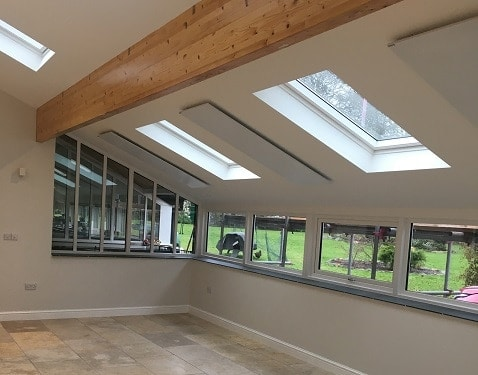 Herschel for home extensions and conservatories