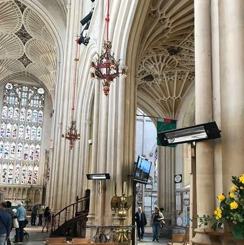 Church heating installs with Herschel