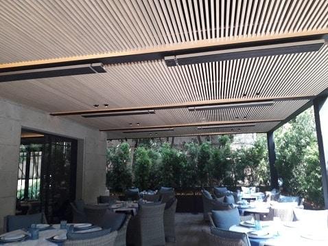 Herschel heating a restaurant in Mexico