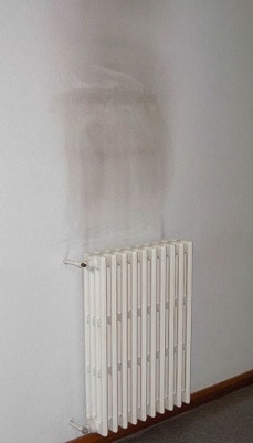 Thermal tracking above a radiator