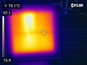 Nano carbon infrared panel