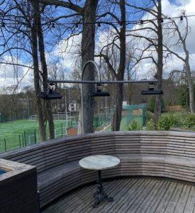 Herschel Miami heaters installed at Durham university