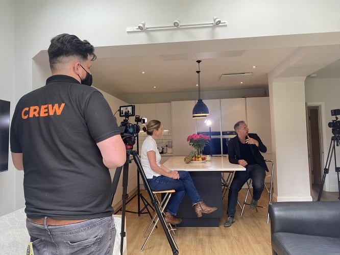 Filming with Fully Charged